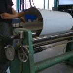 Rolling the sheet